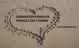 Hjerte i sand